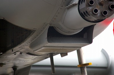 GAU-8 cooling air intake, A-10C
